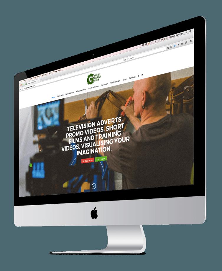 Green Gorilla website preview